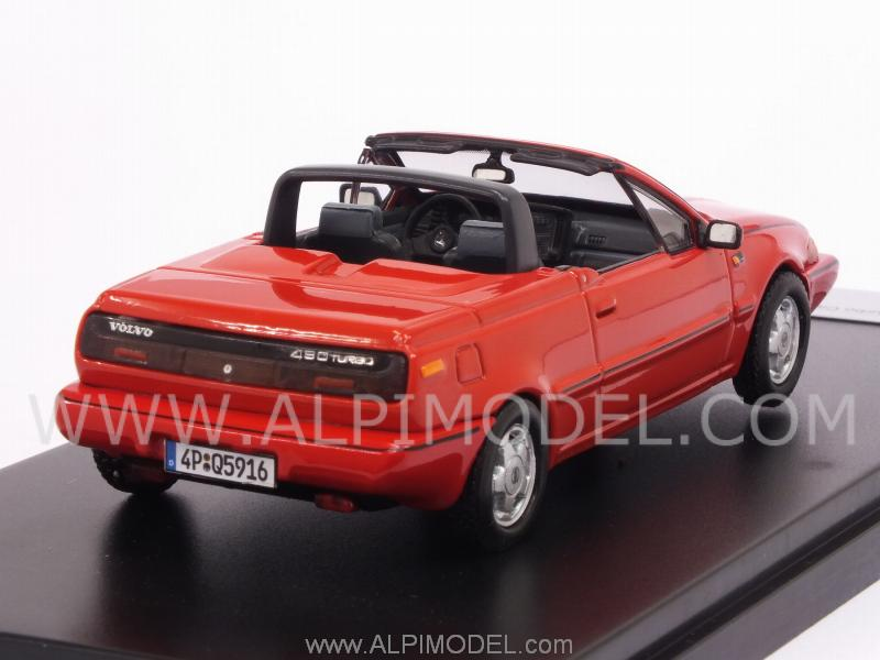 Volvo 480 Turbo Cabriolet 1990 (Red) - premium-x