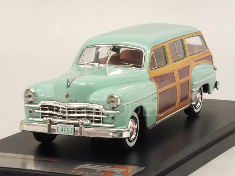 Dodge Coronet Woody Wagon 1949 (Metallic Green/Woody) by premium-x