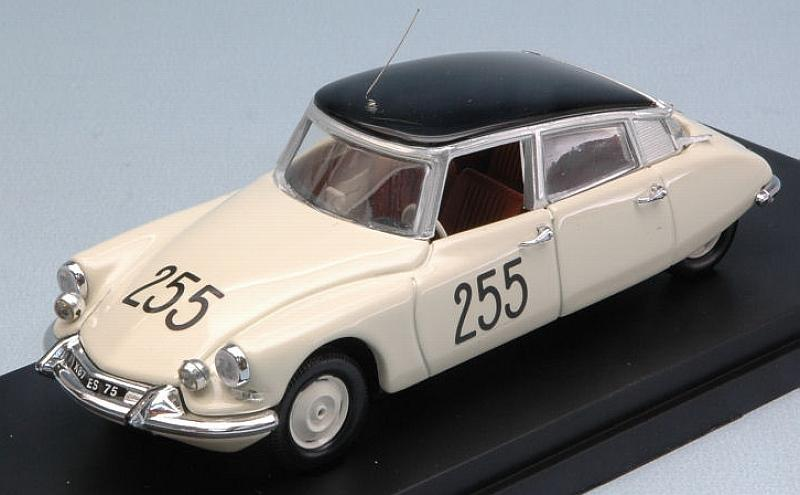 Citroen DS 19 #255 Mille Miglia 1957 by rio