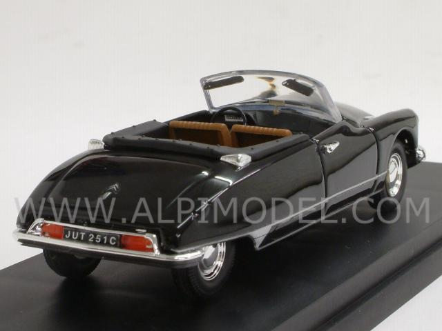 Citroen DS Cabrio 1961 (Black) - rio