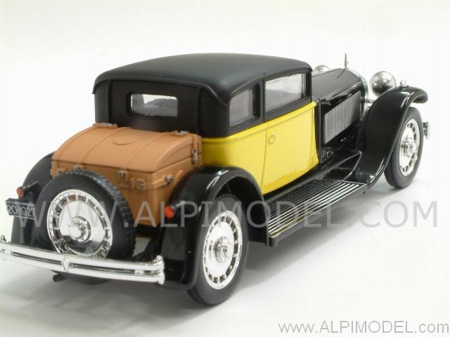 Bugatti 41 Royale Weymann 1929 (Black/Yellow) - rio