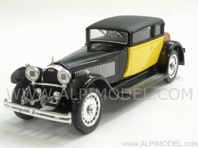 Bugatti 41 Royale Weymann 1929 (Black/Yellow) by rio