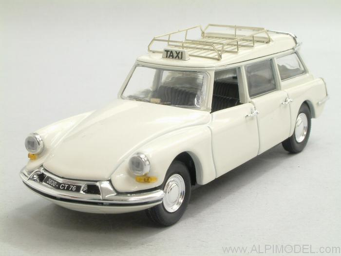 Citroen ID Break Taxi 1959 by rio