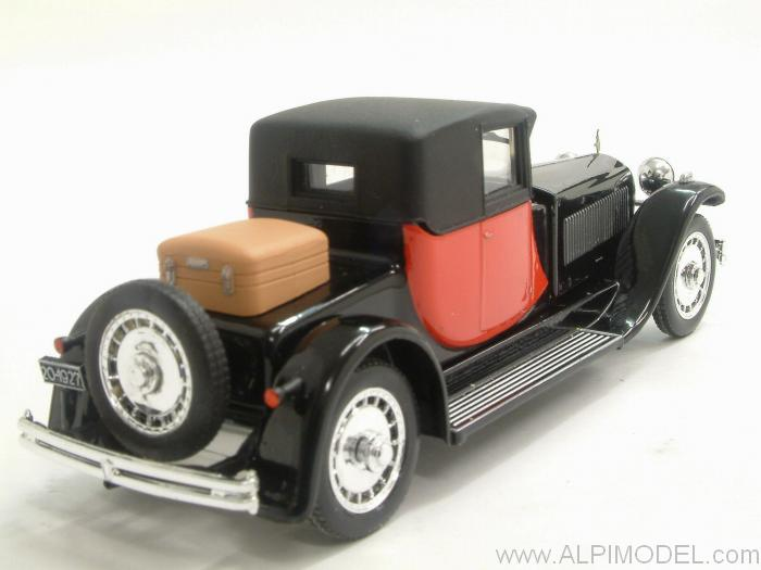 Bugatti 41 Royale Coupe Napoleon 1929  (Black/Red) - rio