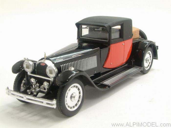 Bugatti 41 Royale Coupe Napoleon 1929  (Black/Red) by rio