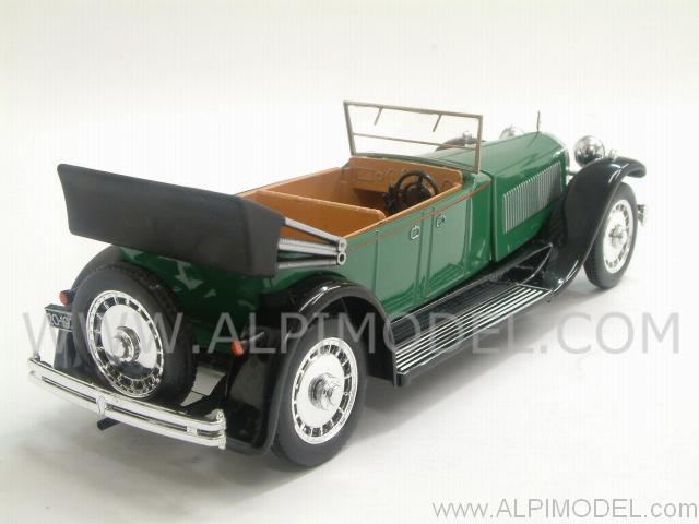 Bugatti 41 Royale Torpedo open 1927  (Green/Black) - rio