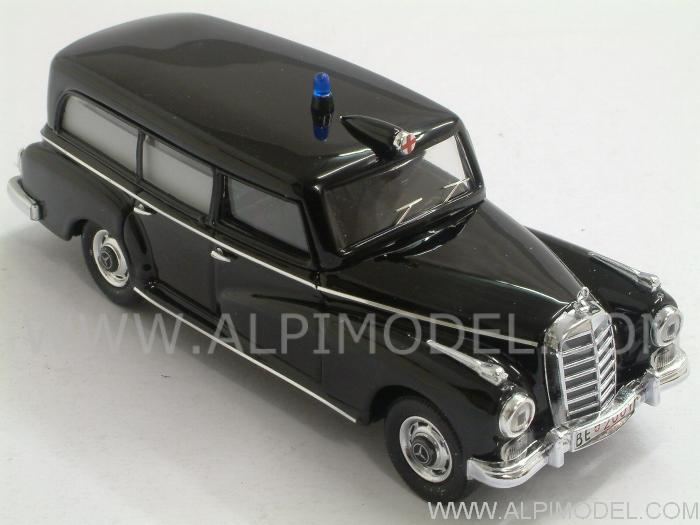 Mercedes 300 Ambulance Police Switzerland 1958 - rio