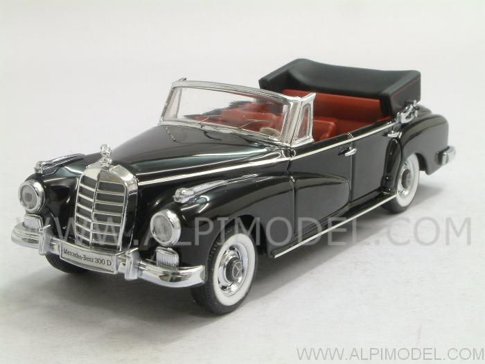 Mercedes 300 D cabrio 1958 (Black) by rio