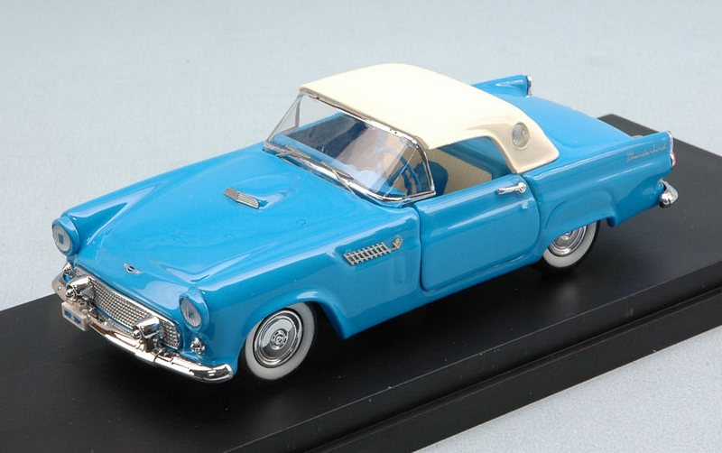 rio ford thunderbird 1956 closed light blue 1 43 scale model. Black Bedroom Furniture Sets. Home Design Ideas
