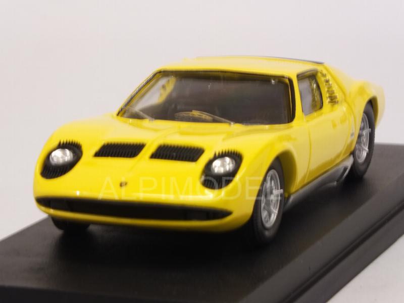 Rio 4585 Lamborghini Miura Bertone P400 1966 Yellow 1 43