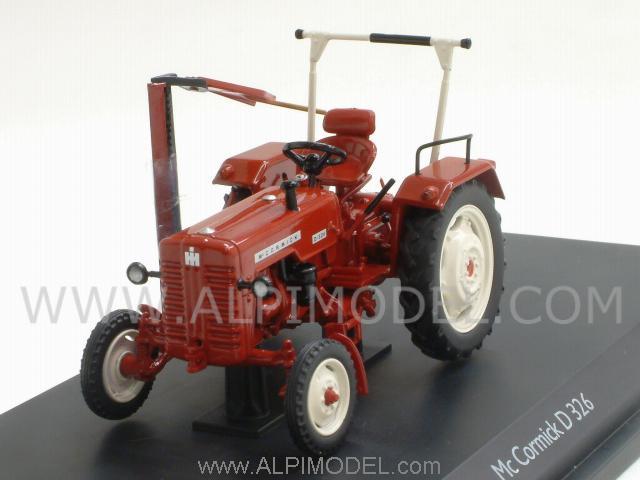 schuco mc cormick d326 tractor 1 43 scale model. Black Bedroom Furniture Sets. Home Design Ideas