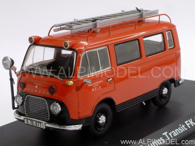 Ford Transit Home >> schuco Ford Taunus Transit FK1000 Fire Brigades (1/43 scale model)