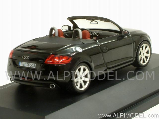 Audi TT Roadster 2006 (Brilliant Black) - schuco