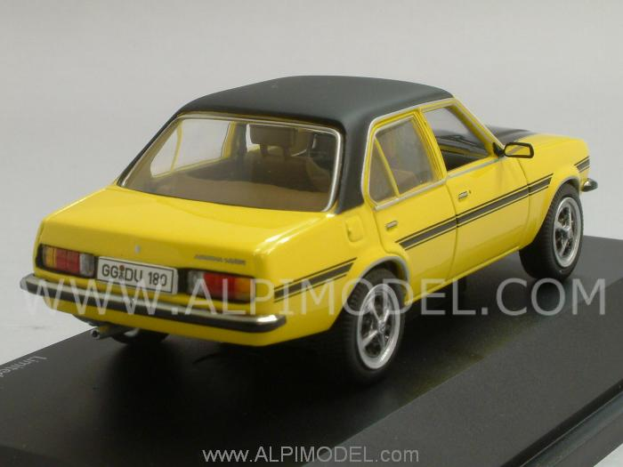 Opel Ascona SR (Yellow/Black) - schuco