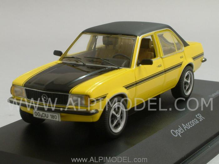 Opel Ascona SR (Yellow/Black) by schuco