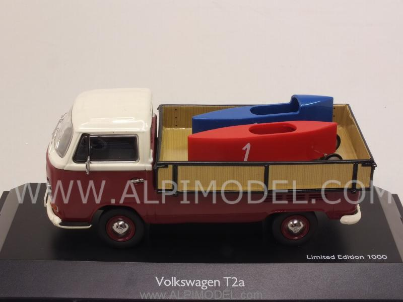 Schuco volkswagen t2a pickup with 39 soap box 39 cars 1 43 for 2 5 box auto