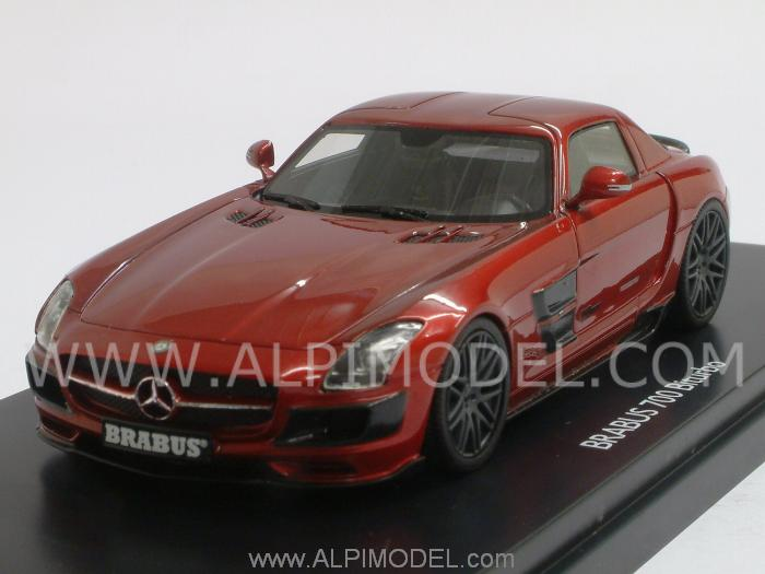 Brabus 700 Biturbo (SLS) (Red Metallic) PRO-R43 Series by schuco
