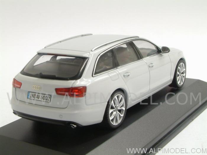 Schuco Audi A6 Avant 2011 Glacier White Audi Promo 1 43