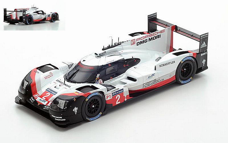 Porsche 919 Hybrid #2 Winner Le Mans 2017 Bernhard - Bamber - Hartley by spark-model