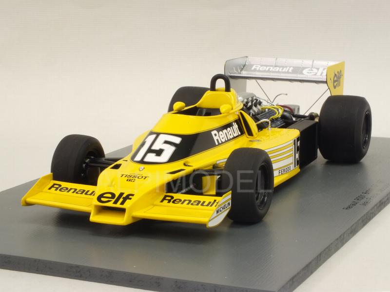 Renault RS01 #15 British GP 1977 J.P.Jabouille by spark-model