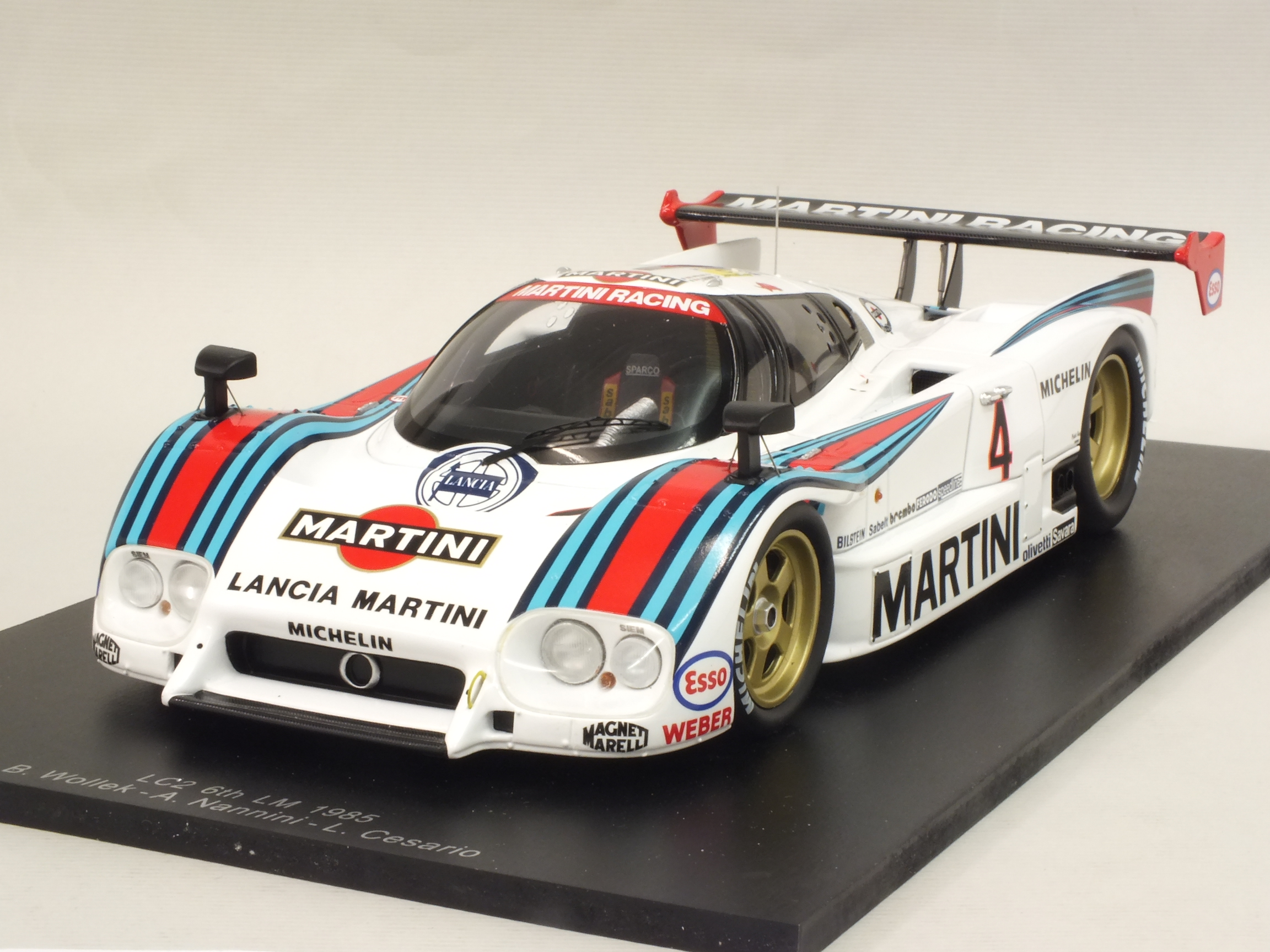 Lancia LC2 #4 Le Mans 1985 Wollek - Nannini - Cesario by spark-model
