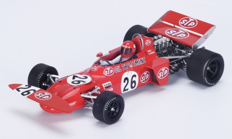 March 711 #26 GP Austria 1971 Niki Lauda by spark-model