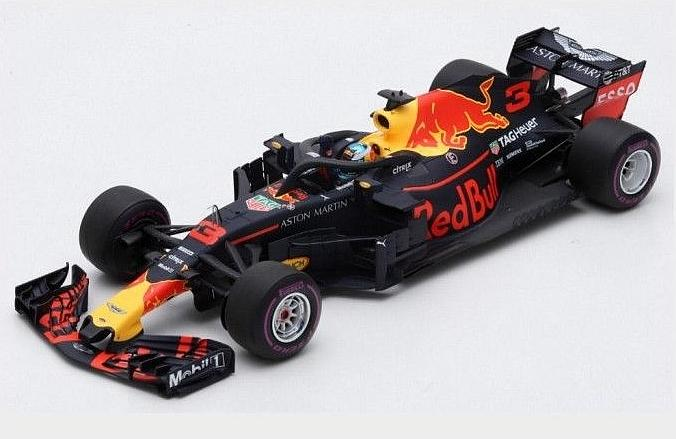 Red Bull RB14 #3 Winner GP Monaco 2018 Daniel Ricciardo 250th Red Bull Race by spark-model