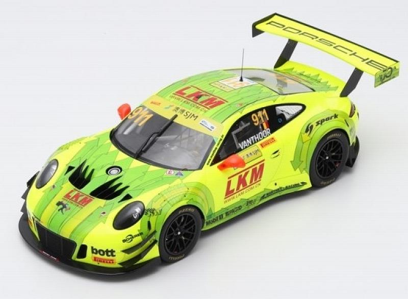 Porsche 911 GT3 #911 FIA GT World Cup Macau 2018 Laurens Vanthoor by spark-model
