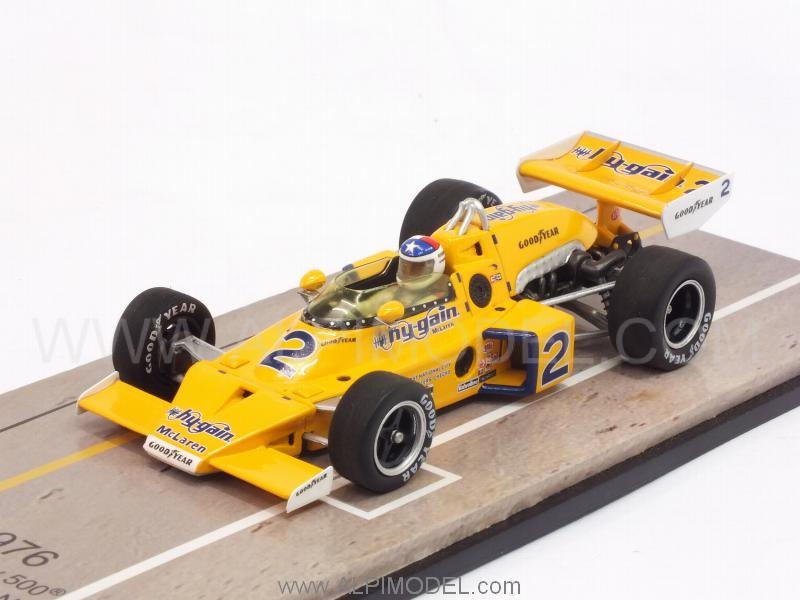 McLaren M16C #2 Winner Indy 500 1976 Johnny Rutherford by spark-model