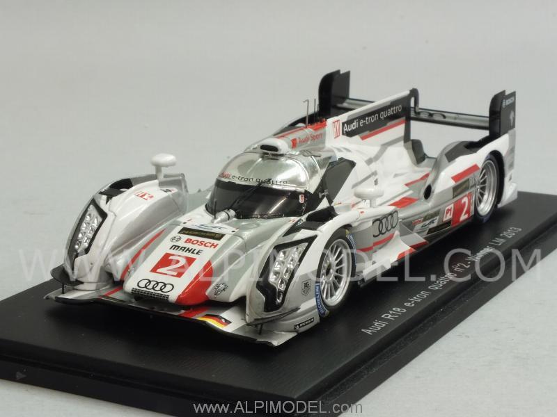 Spark Model Audi R18 E Tron Quattro 2 Winner Le Mans 2013