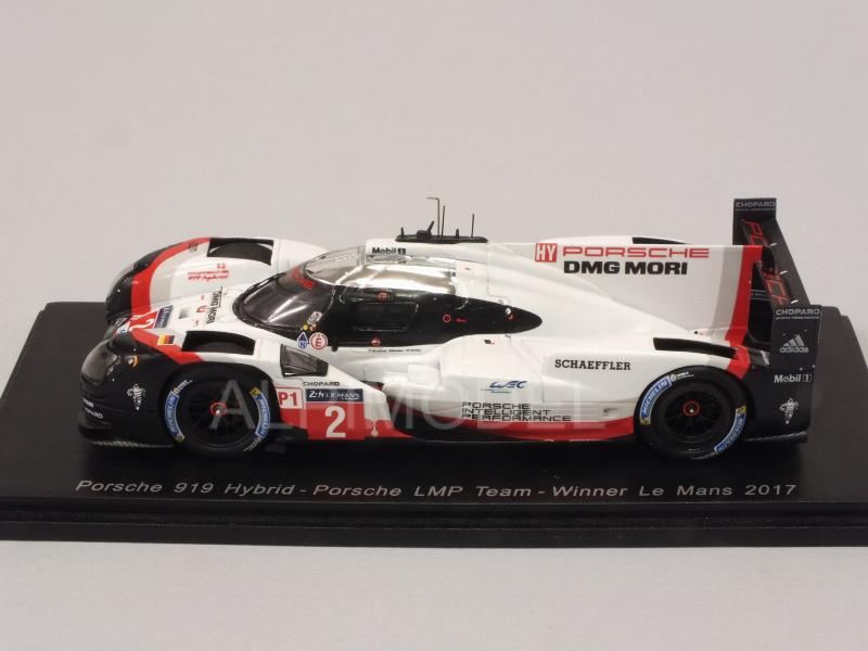 Porsche 919 Hybrid #2 Winner Le Mans 2017 Bernhard - Bamber - Hartley - spark-model