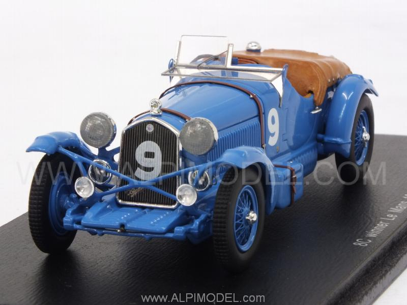 Alfa Romeo 8C #9 Winner Le Mans 1934 Chinetti - Etancelin by spark-model