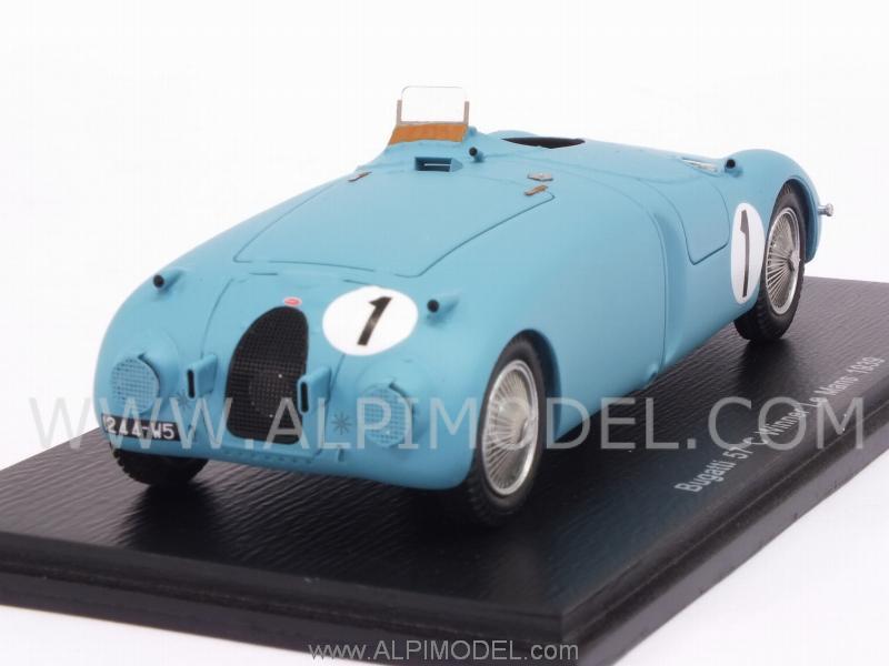 spark model 43lm39 bugatti 57c 1 winner le mans 1939 wimille veyron 1 43. Black Bedroom Furniture Sets. Home Design Ideas