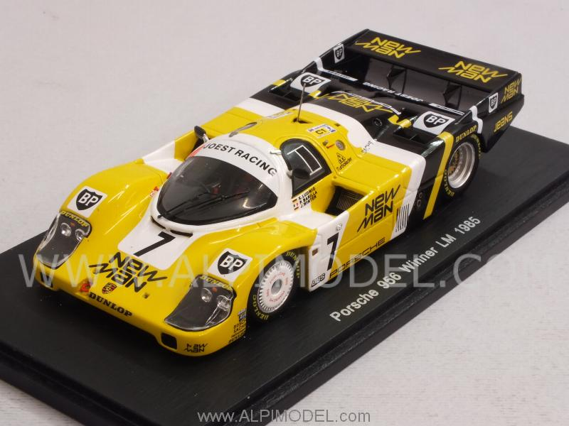 Porsche 956 #7 Winner Le Mans 1985 Ludwig - Barilla - Winter - spark-model