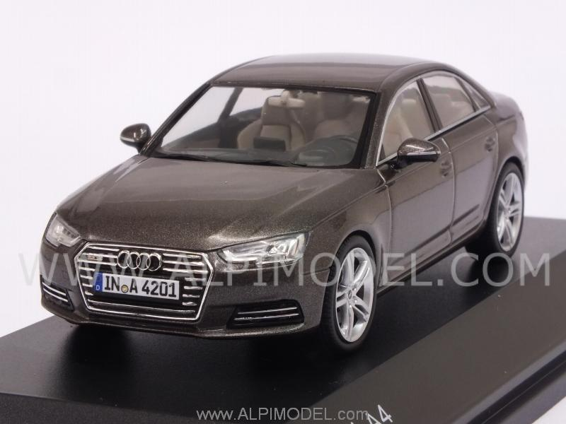 spark model audi a4 2016 argus brown audi promo 1 43 scale model. Black Bedroom Furniture Sets. Home Design Ideas