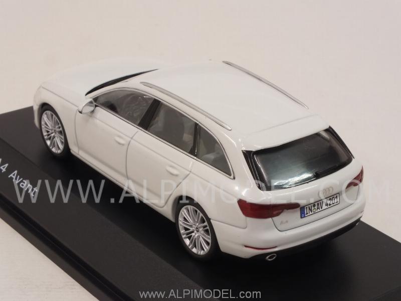 Spark Model Audi A4 Avant 2016 Glacier White Audi Promo