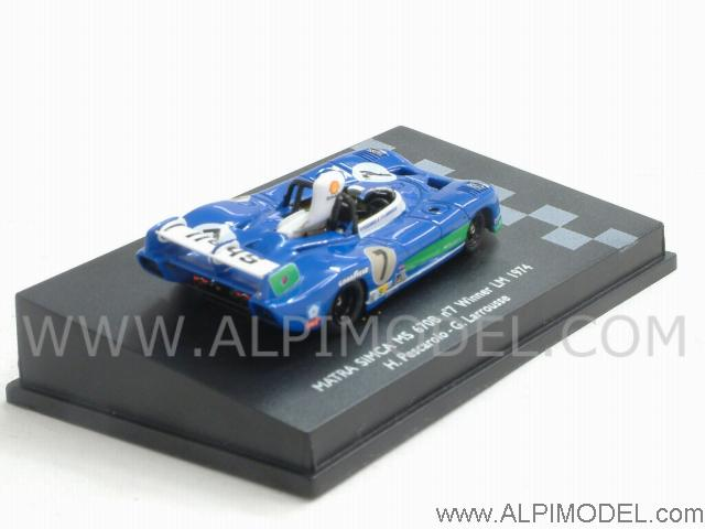 Matra Simca #7 Winner Le Mans 1974 (H0 1/87 scale - 5cm) - spark-model