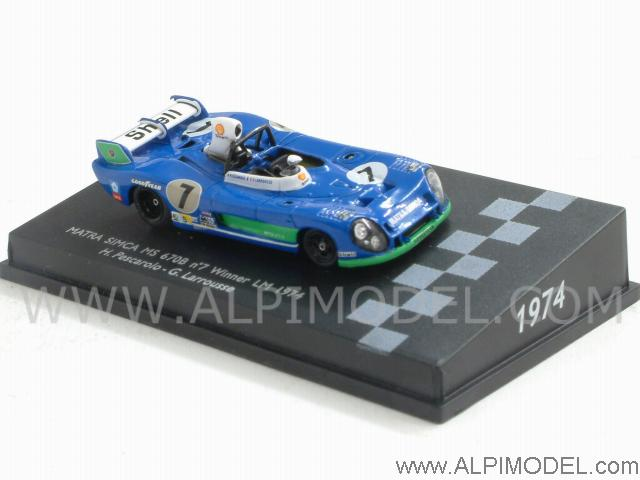 Matra Simca #7 Winner Le Mans 1974 (H0 1/87 scale - 5cm) by spark-model