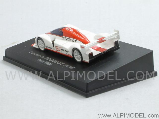 Peugeot 908 Concept Car Paris 2006 (H0-1/87 scale - 5cm) - spark-model