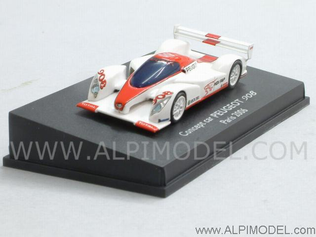 Peugeot 908 Concept Car Paris 2006 (H0-1/87 scale - 5cm) by spark-model