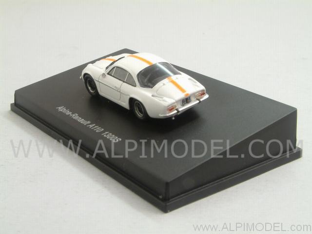 Alpine Renault A110 1300S (White (H0-1/87 scale - 4cm) - spark-model