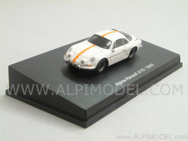 Alpine Renault A110 1300S (White (H0-1/87 scale - 4cm) by spark-model