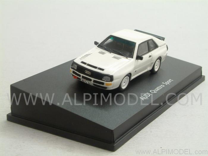 Spark Model Audi Quattro Sport White H0 1 87 Scale