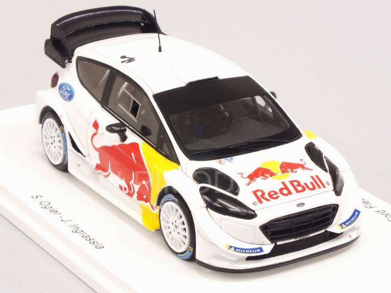 Spark Ford Fiesta WRC pré-Test Monte Carlo 2018-SEBASTIEN OGIER échelle 1//43