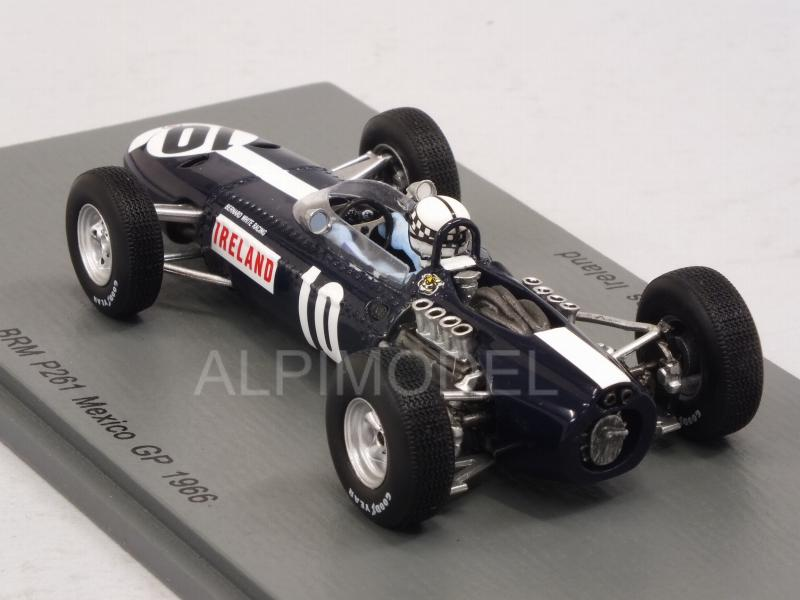 BRM P261  Innes Ireland  Formel 1 GP Mexico 1966  1:43 Spark 5275 NEU