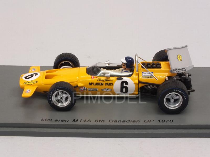 Peter Gethin McLaren M14A Spark 1:43 Canadian GP 1970 S7141