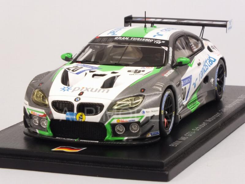 BMW M6 GT3 Nurburgring 2017 Krohn - Muller- Spengler - Witt 1:43 SPARK SG364