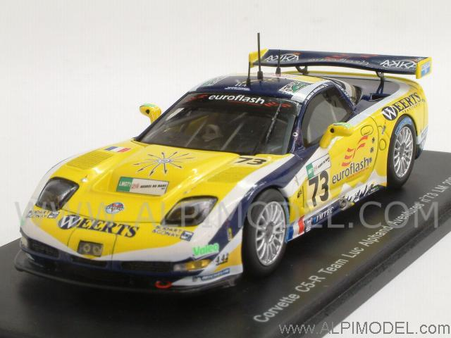 Chevrolet Corvette C5-R Luc Alphand Adventures #73 Le Mans 2007 Blanchemain - Vosse - Andre by spark-model