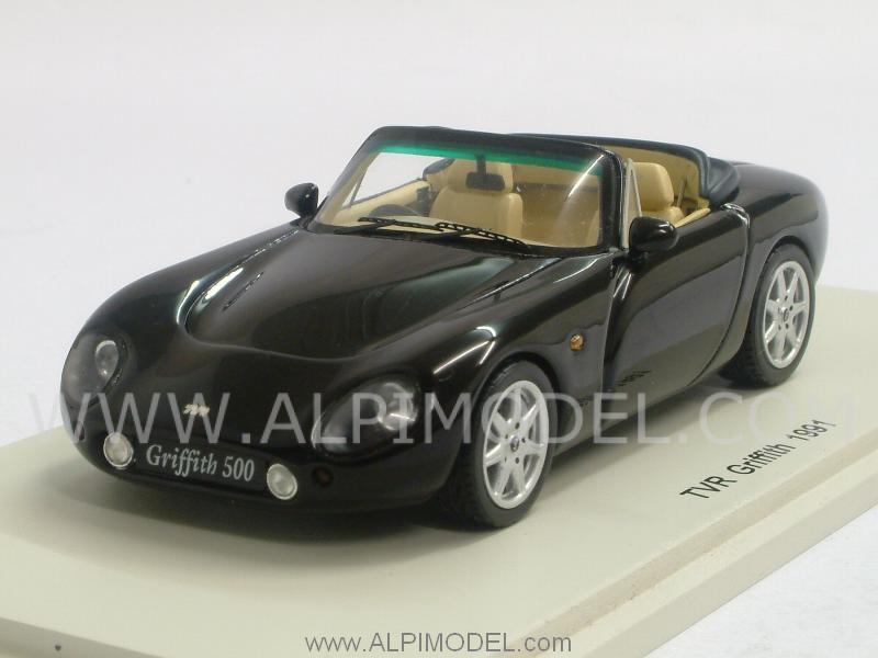 spark model tvr griffith 1991 black 1 43 scale model. Black Bedroom Furniture Sets. Home Design Ideas