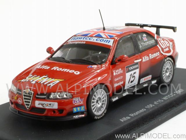 Sparkmodel Alfa Romeo WTCC James Thompson Scale - Alfa romeo scale models
